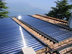 esempio di posa impianto solare termico